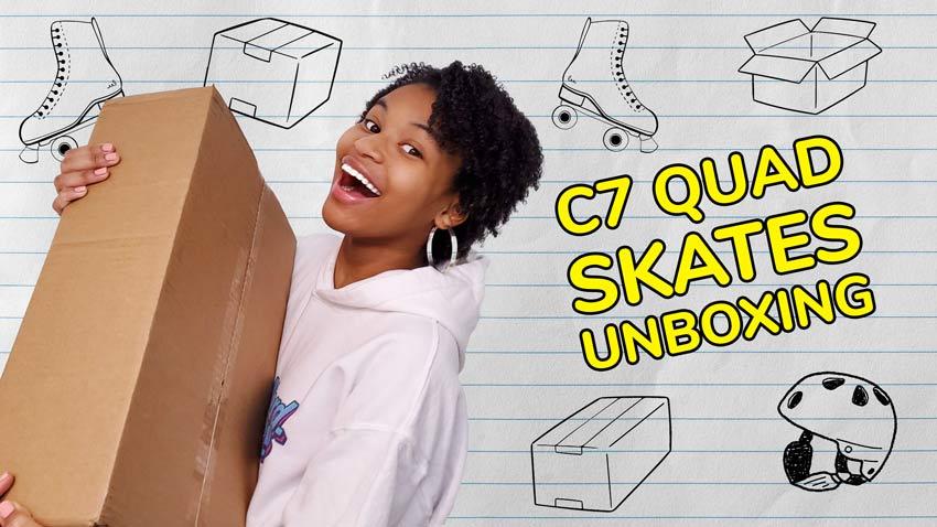 C7 Skates Unboxing! Lemonpop or Aquamarine?