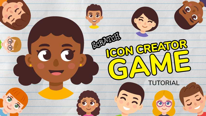 Learn How to Make an Icon Creator Game in Scratch