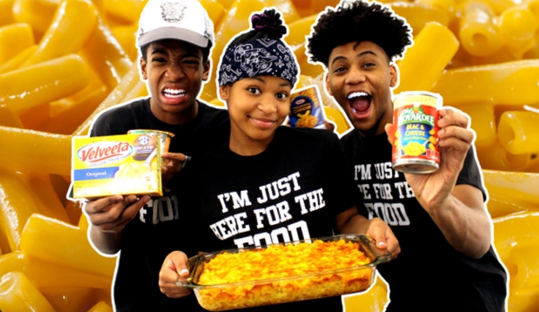 My TWO Brothers and I eat FIVE DIFFERENT KINDS of Instant Macaroni and Cheese + Macaroni Pie Recipe