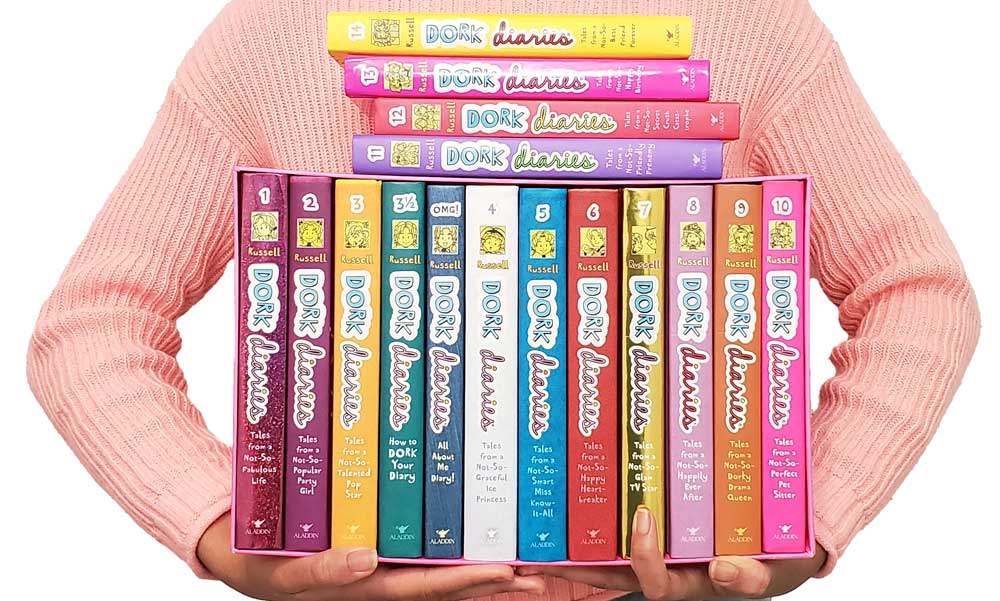 MINI REVIEWS of Every Book in the ENTIRE Dork Diaries Series!