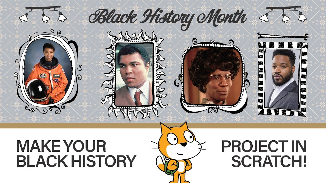 Black History Month Project Template