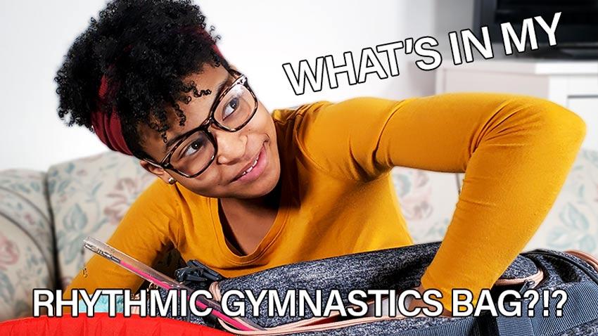 What's In My Rhythmic Gymnastics Bag???