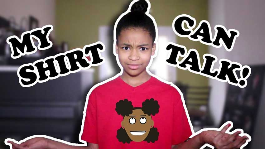 How to Add a Talking Cartoon Character to Your Shirt   Tutorial