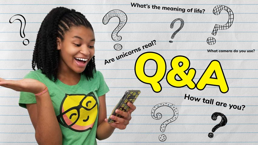 I kicked off Season 4 with a Q&A!