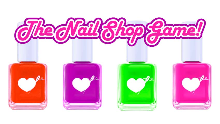 Play My New Nail Shop Video Game
